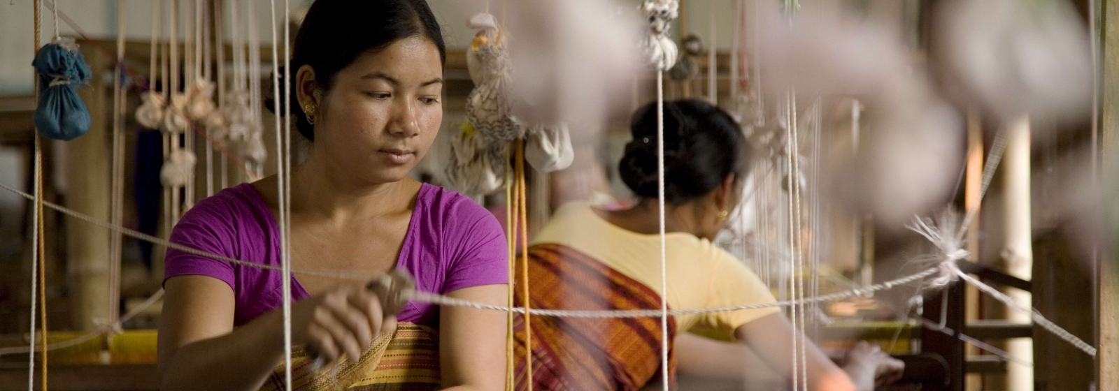 Bodaland weavers from north-east in Aagor